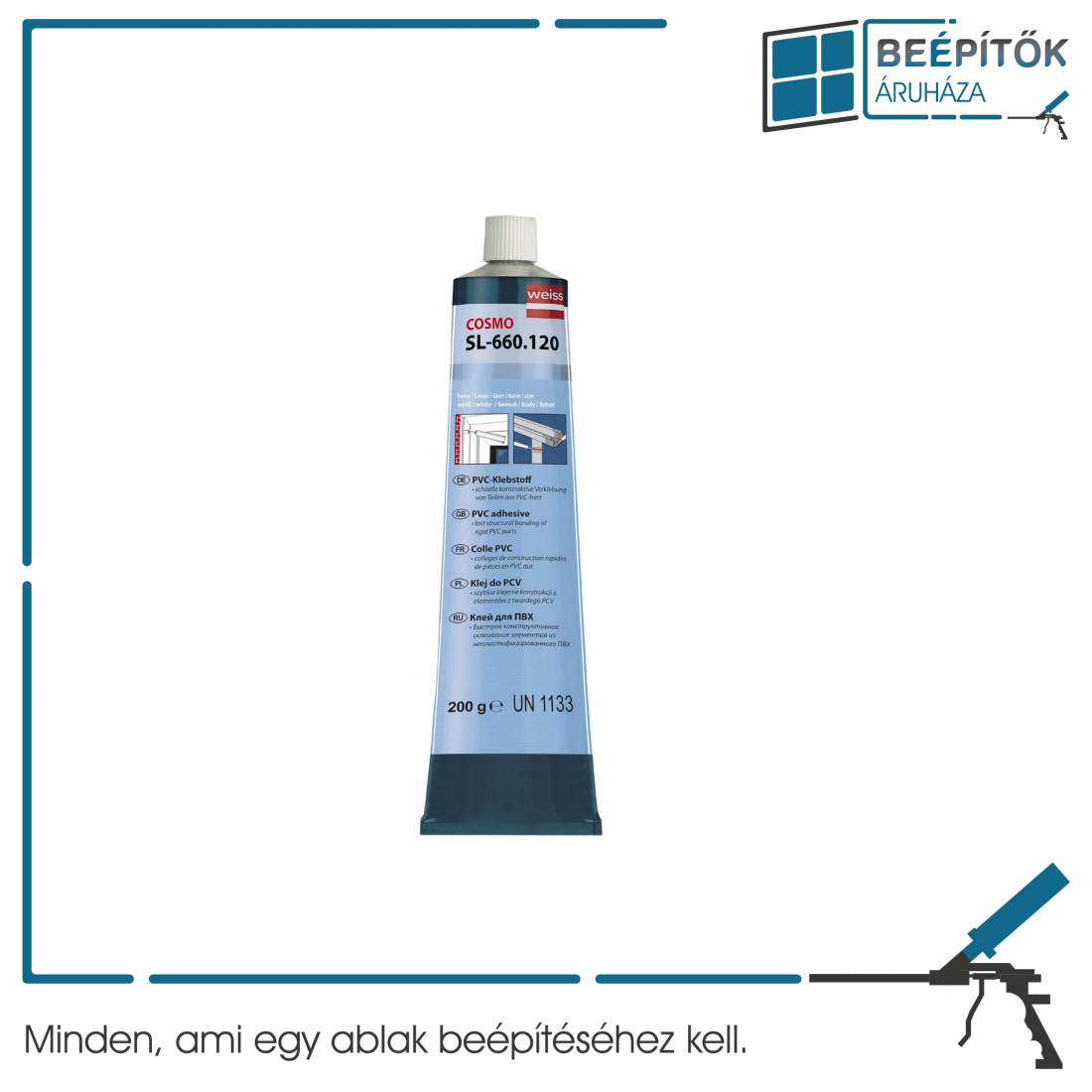 Cosmofen PVC ragasztó